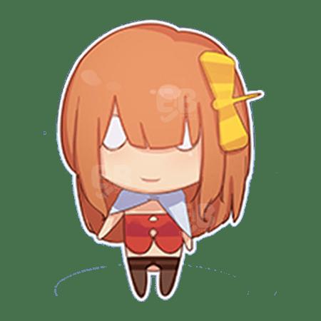 Elsababe ちびキャラ オレンジ